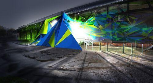 Heineken venue in Milan Design Week 2013 - The Magazinni - Entrance