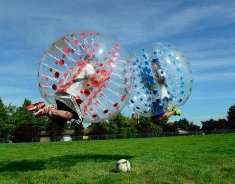 bubble football sempione milano2