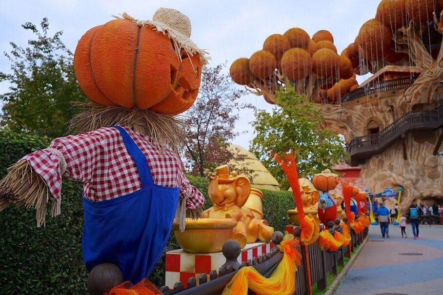 gardaland magic halloween 2020