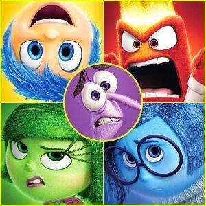 inside out disney pixar character posters