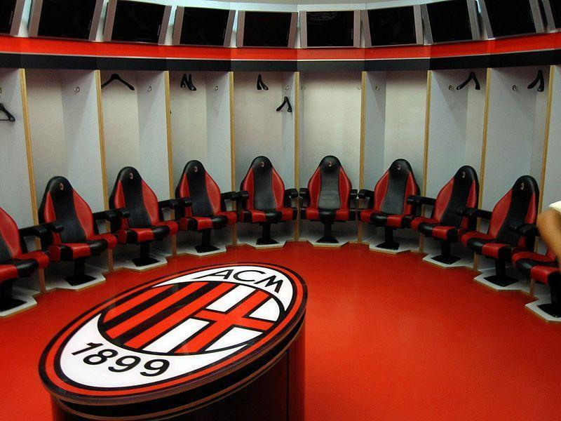 ac milan dressing room wikipedia