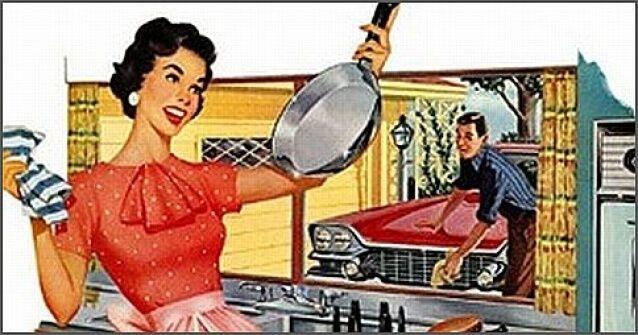 8 marzo donna appagata casalinga realizzata for Cucinare anni 50