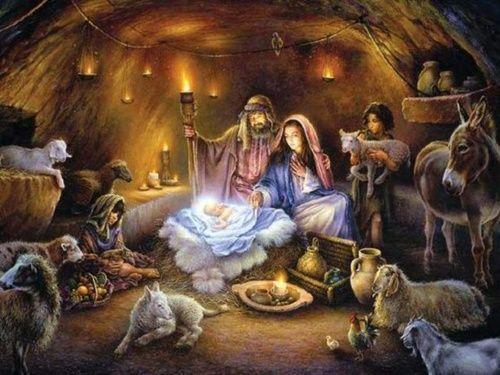 Immagini Di Natale Presepe.Magia Del Natale Il Presepe Prende Vita