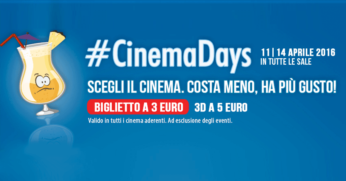 cinemadays milano 2
