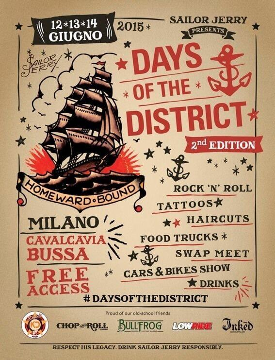isola days of district