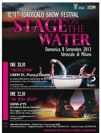 stage on the water 2013