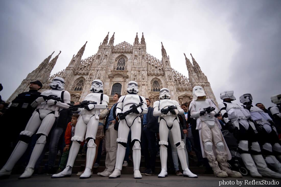 star wars parade milano