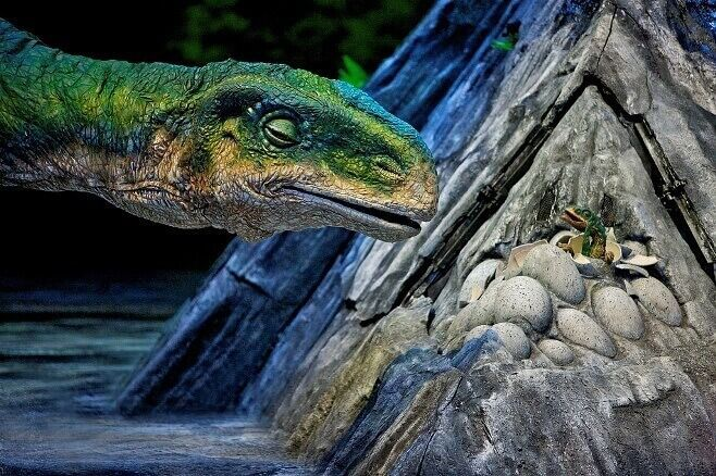 walking dinosaurs