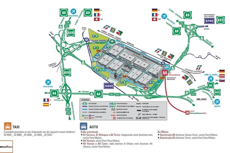 Expo milano 2015 come quando e dove for Expo fiera milano