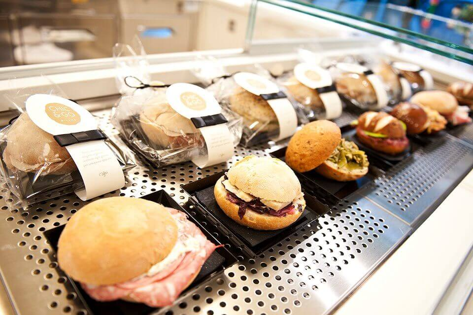 Conosciuto Gusto, glamour e… Chic & Go: i panini d'autore a Milano ZV21