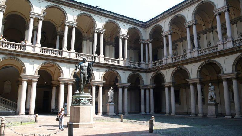 L accademia di belle arti di brera milano for Accademia arte milano