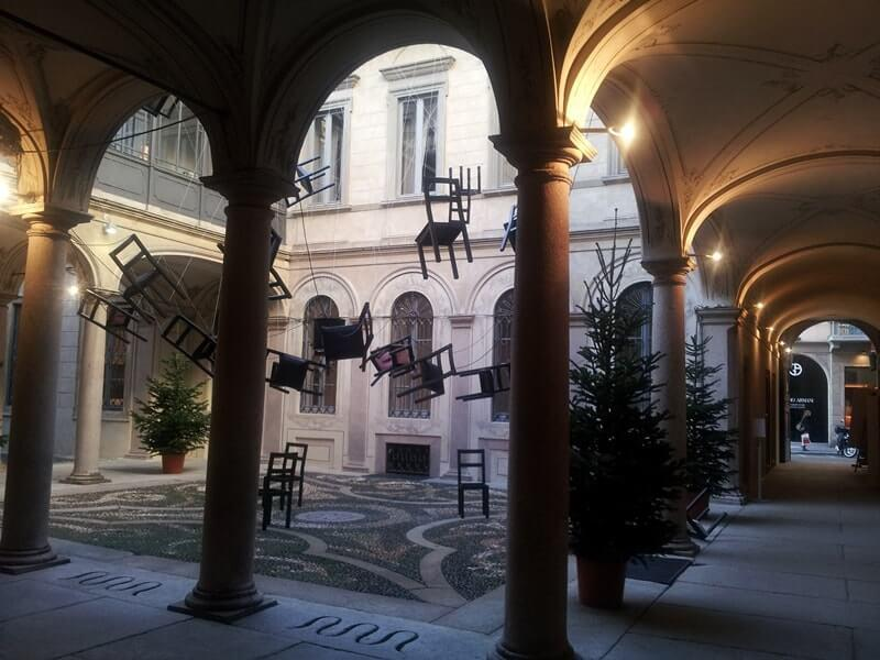 Palazzo morando raccolte storiche di costume moda e immagine for Palazzo morando