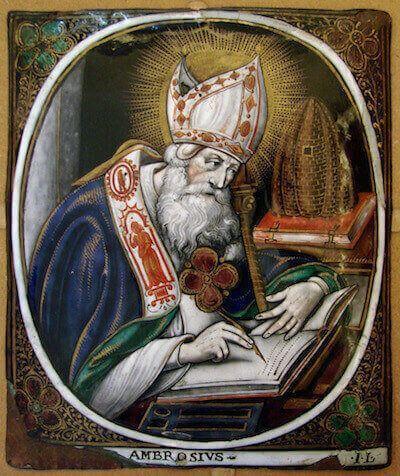 Risultati immagini per sant'ambrogio milano