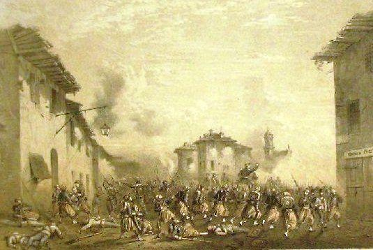 Battaglia di melegnano 8 giugno 1859 for Battaglia di milano