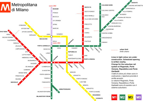 Metropolitana Di Milano