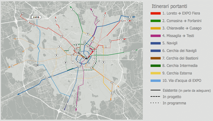 Mappa Piste Ciclabili Milano Piste-ciclabili-milano