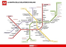 mappa gelaterie a milano
