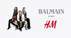 Capsule collection Balmain per H&M